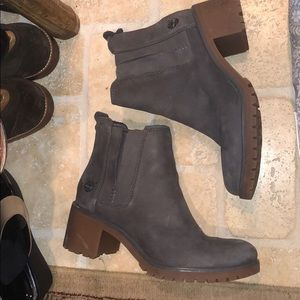 Timberland platform boots!
